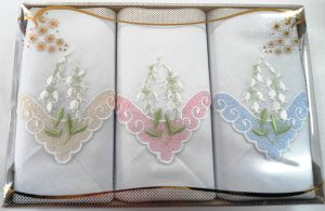 RAYNER Embroided Handkerchiefs (3 Pack)