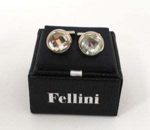 FELLINI Crystal Cufflinks