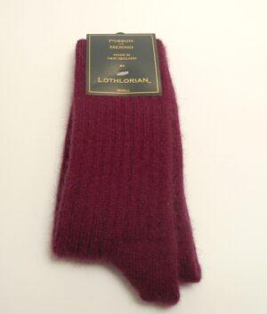 Lorthlorian possum & merino socks