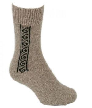 Lothlorian Possum Koru Sock