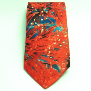 Pohutakawa Design Tie
