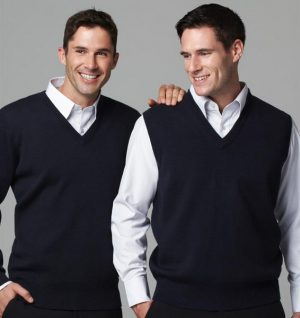 Mens Wool Mix Pullover