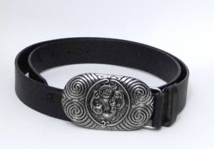Kiwi Country - Maori Design Mens Belt