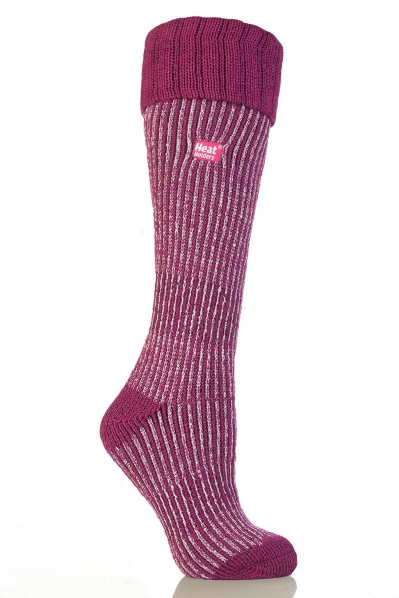 Ladies Gumboot Thermal Heat Holder Socks
