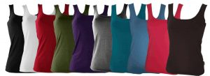 Ladies Bamboo Singlets