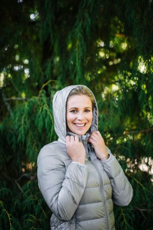 Moke' Womens Packable Duck Down Jacket-Sarah