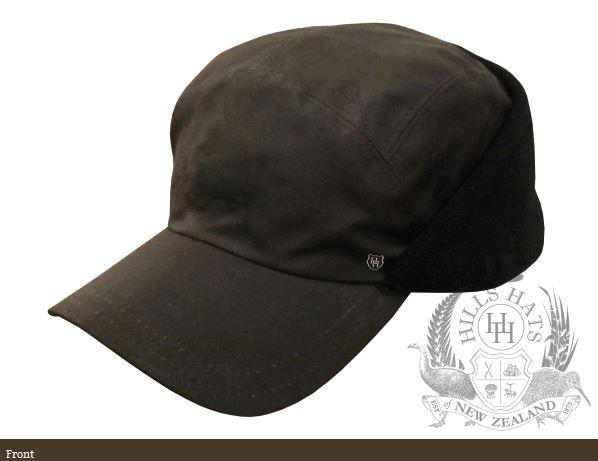 The Game Oilskin Cap
