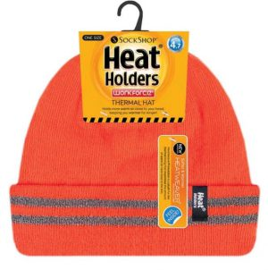 Heat Holders Workforce High Visibility Hat - With Reflective Stripes