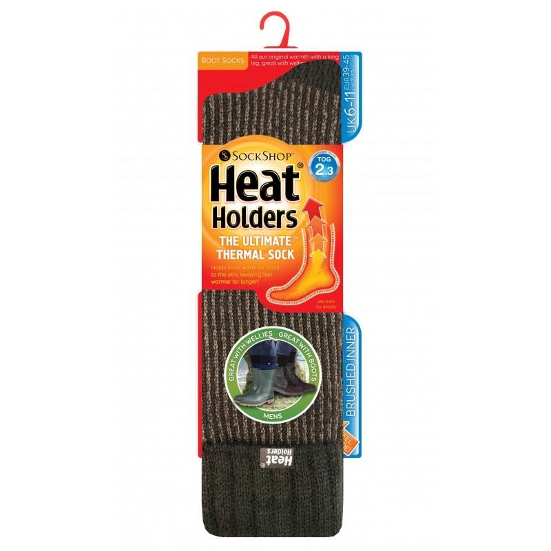 Men's Gumboot Thermal Heat Holder Socks