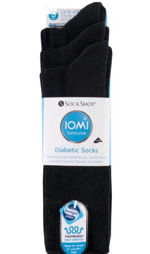 Iomi Diabetic socks 3 Pack