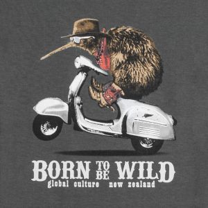 """Born To Be Wild"" Womens Tee"