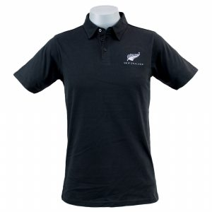 Stylised Fern Mens Polo Shirt