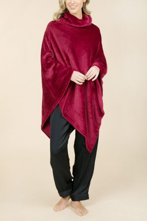 Influence Fleece Poncho