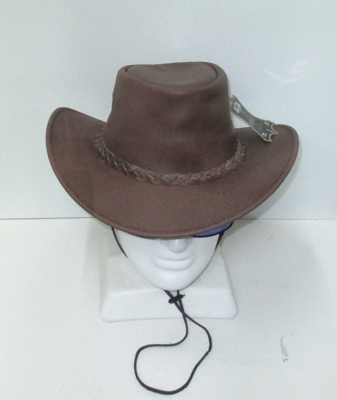 Eskay Soft Foldeable Leather Hat
