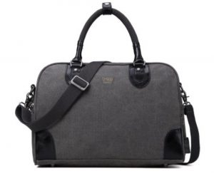Troop London Travel Holdall meduim Bag black