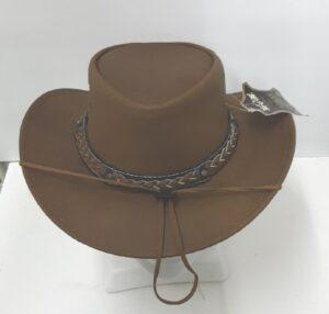 Eskay Oily Nubuck Cowsuede Leather Hat