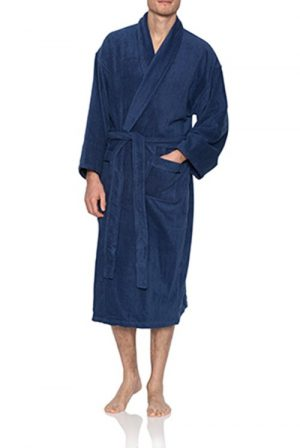 Pierre Cardin Cotton Towelling Mens Robe