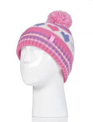 Girls Pixie Pom Pom Hat and Mitten Set Age 3-6 years