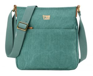 Troop Classic Zip Top Body Bag-Turquoise