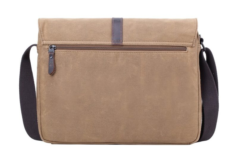 Troop London Oslo Satchel - Camel