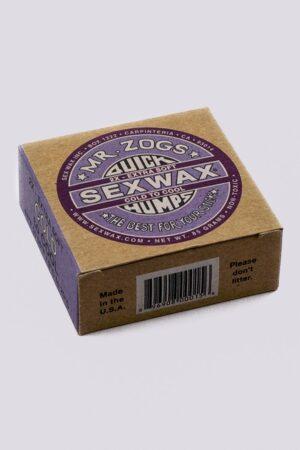 Mr Zogs Sex Wax Quick Humps Surf Wax -Purple