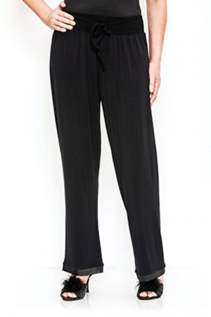 Pierre Cardin Juliette Lounge Pant -Black