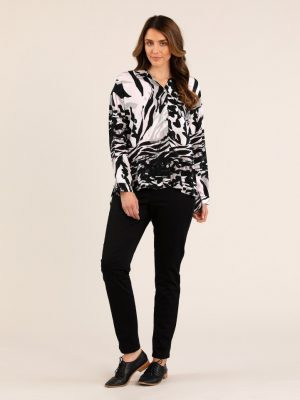 Yarra Trail Waves Print Shirt