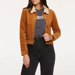 Riders Womens Corduroy Sherpa Jacket