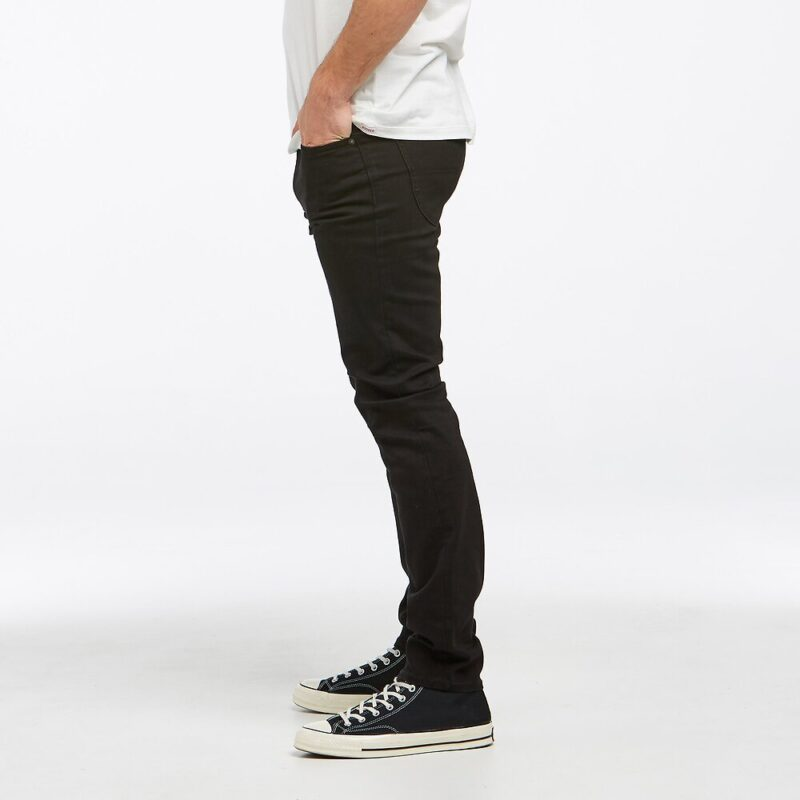Men's Riders Jeans Black side