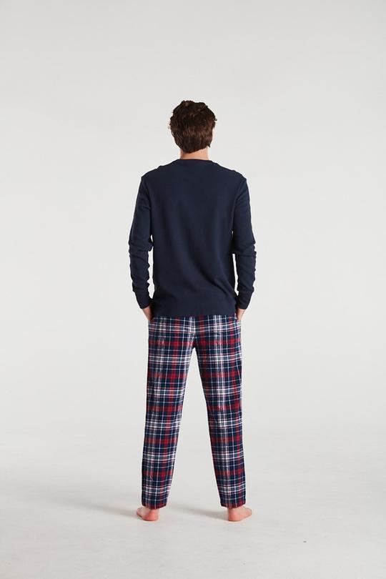 Mens Pyjamas - Hands On Deck Navy